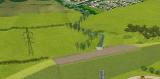 flood protection scheme, Upper Garnock Valley,