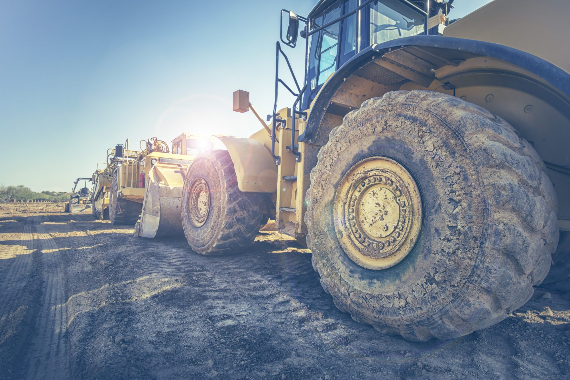 Construction equipment sales plunge by 39% in first six months of 2020