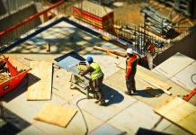 Construction workflows, construction sites, Mobile technologies