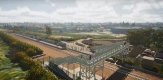 Soham's new railway station