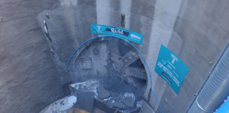 Giant tunnel boring machine,