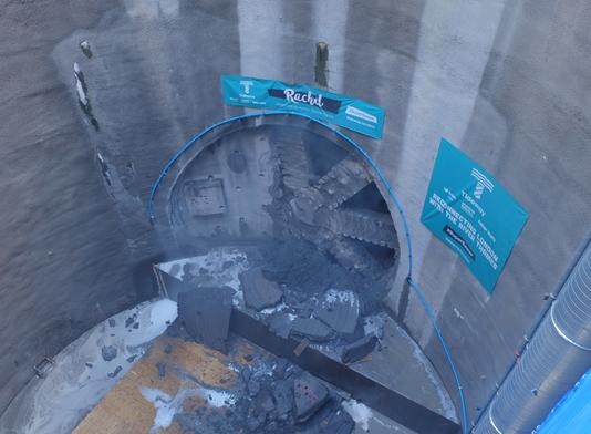Giant tunnel boring machine,