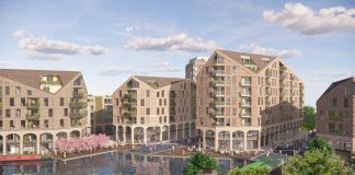 Lowesmoor Regeneration, waterside development