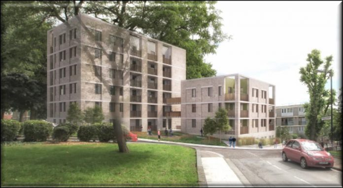 Peckham housing, low carbon homes,