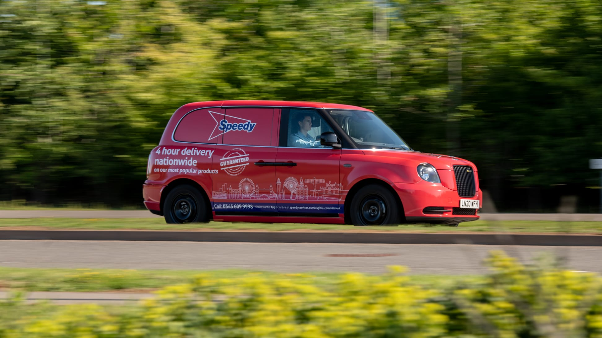 LEVC and Speedy team up to test new electric van
