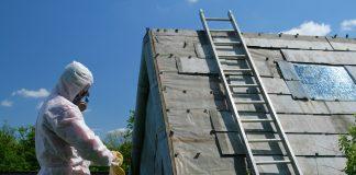 Asbestos removal,