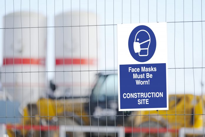 face coverings construction