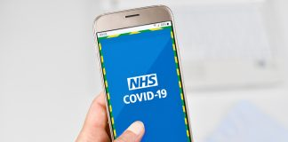 NHS Covid-19 app, Construction companies in the UK,