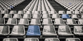 Empty stadiums, acoustics