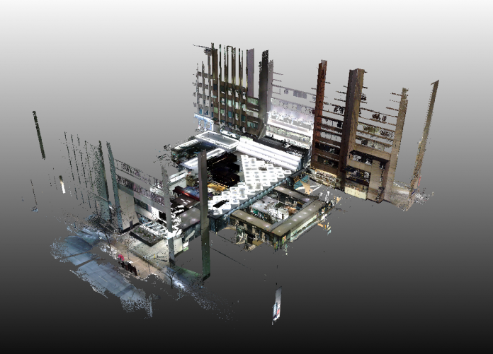 point cloud software, mesh modelling, digital construction software, point cloud data,