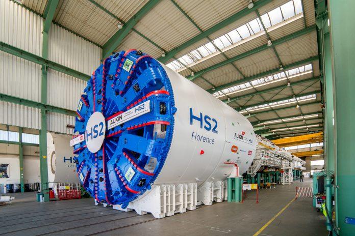 TBM, tunnel machines, Hs2