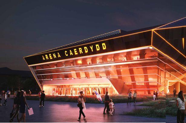 indoor arena in Cardiff Bay