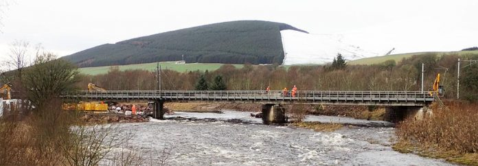damaged viaduct
