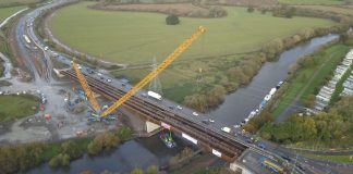 Carrington Bridge,COWI, steel steelwork,
