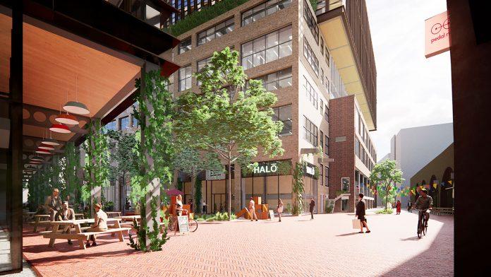 Timber Square, Net-zero carbon