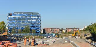 carbon emissions, construction site,