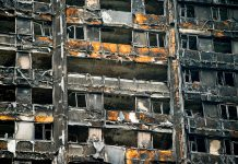 Fire safety bill, cladding