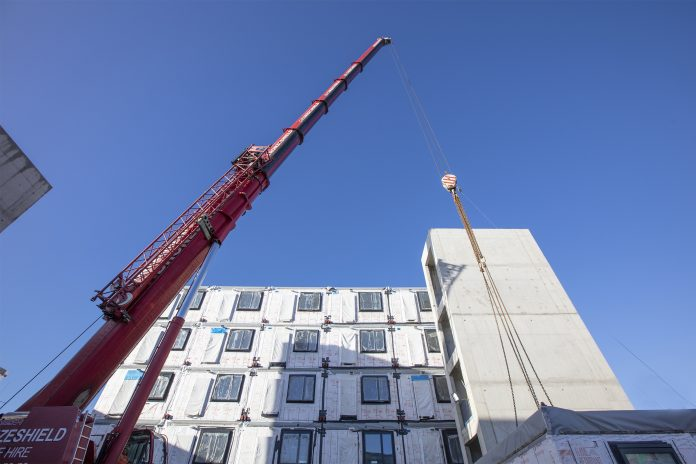 Emergency housing, premier modular