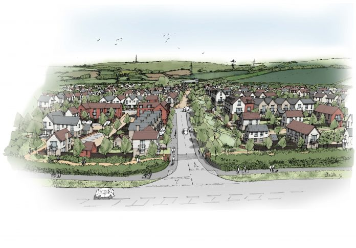 Housing scheme, new homes, weymouth,