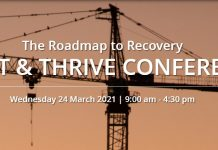 Construction industry, Roadmap to recovery