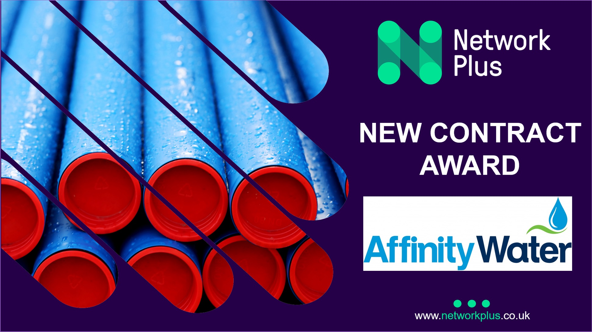 Network Plus secures Affinity Water developer services contract