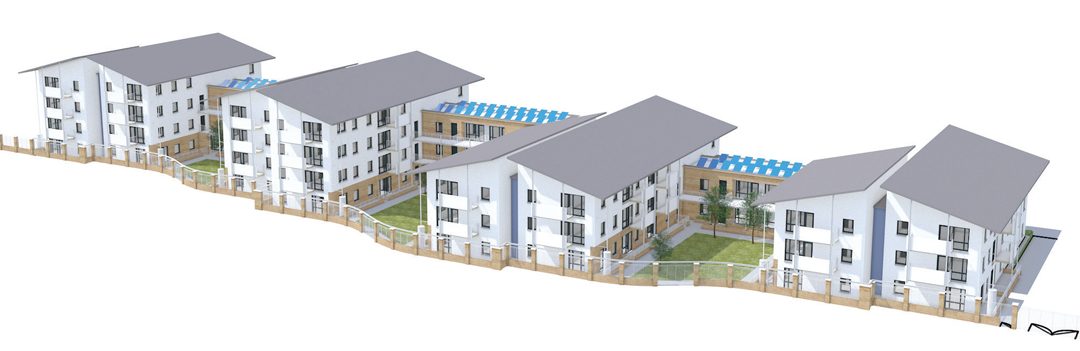 Collaborative BIM assists the delivery of social housing in Tallaght