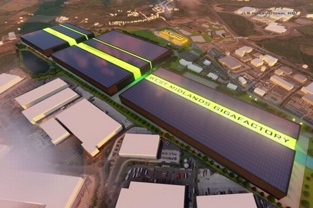 Coventry proposes electric car battery gigafactory