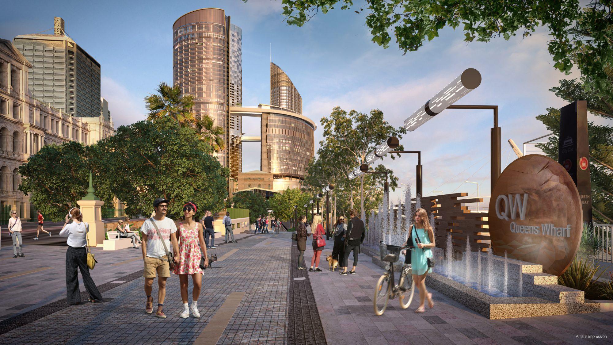 Australia's Queen's Wharf takes shape with Nemetschek AEC software