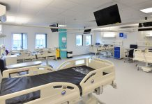 George Eliot hospital, modular construction