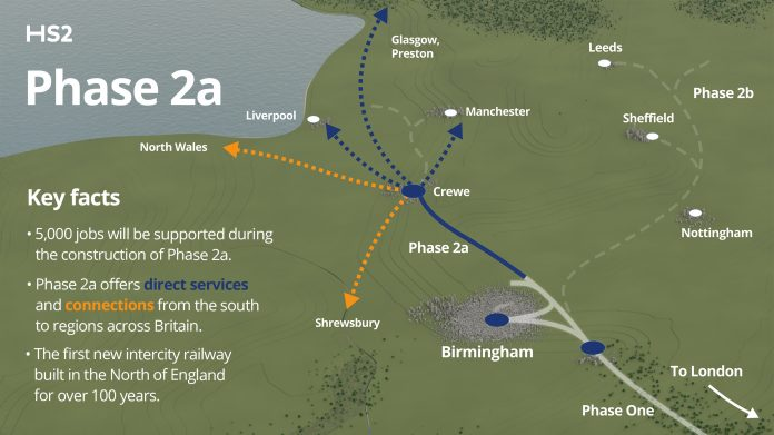 HS2 to Crewe