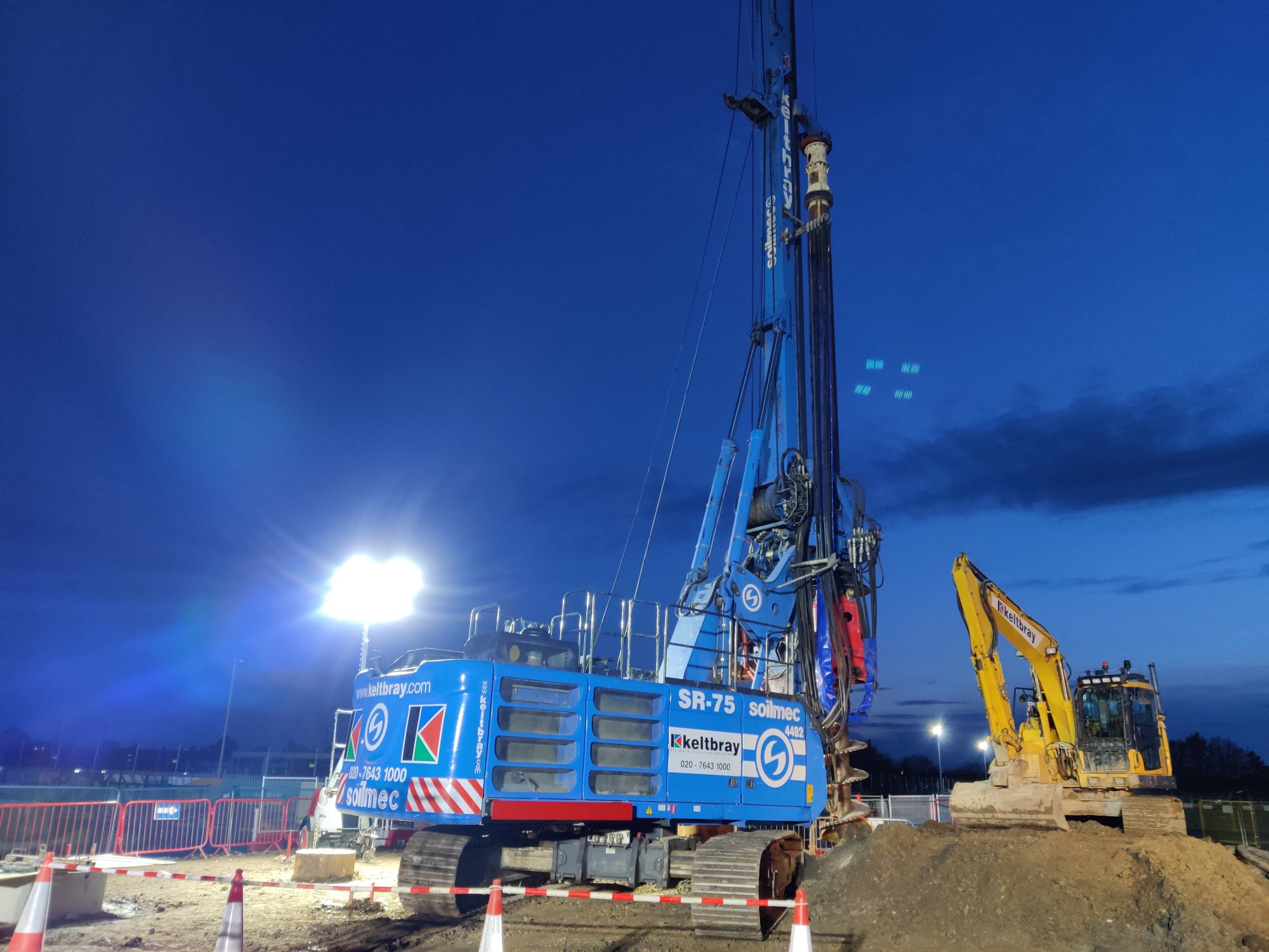 Keltbray to develop sustainable hollow pile
