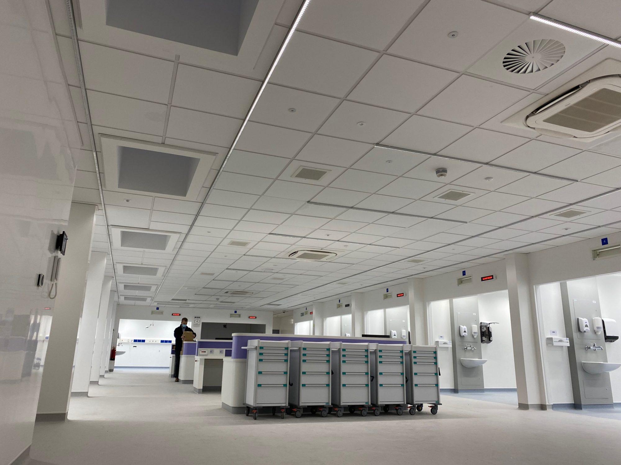 Morgan Sindall uses MMC on major hospital upgrade