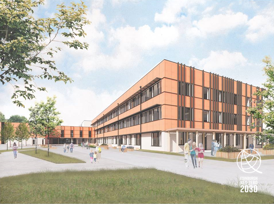 Plans revealed for Scotland's first Passivhaus high school