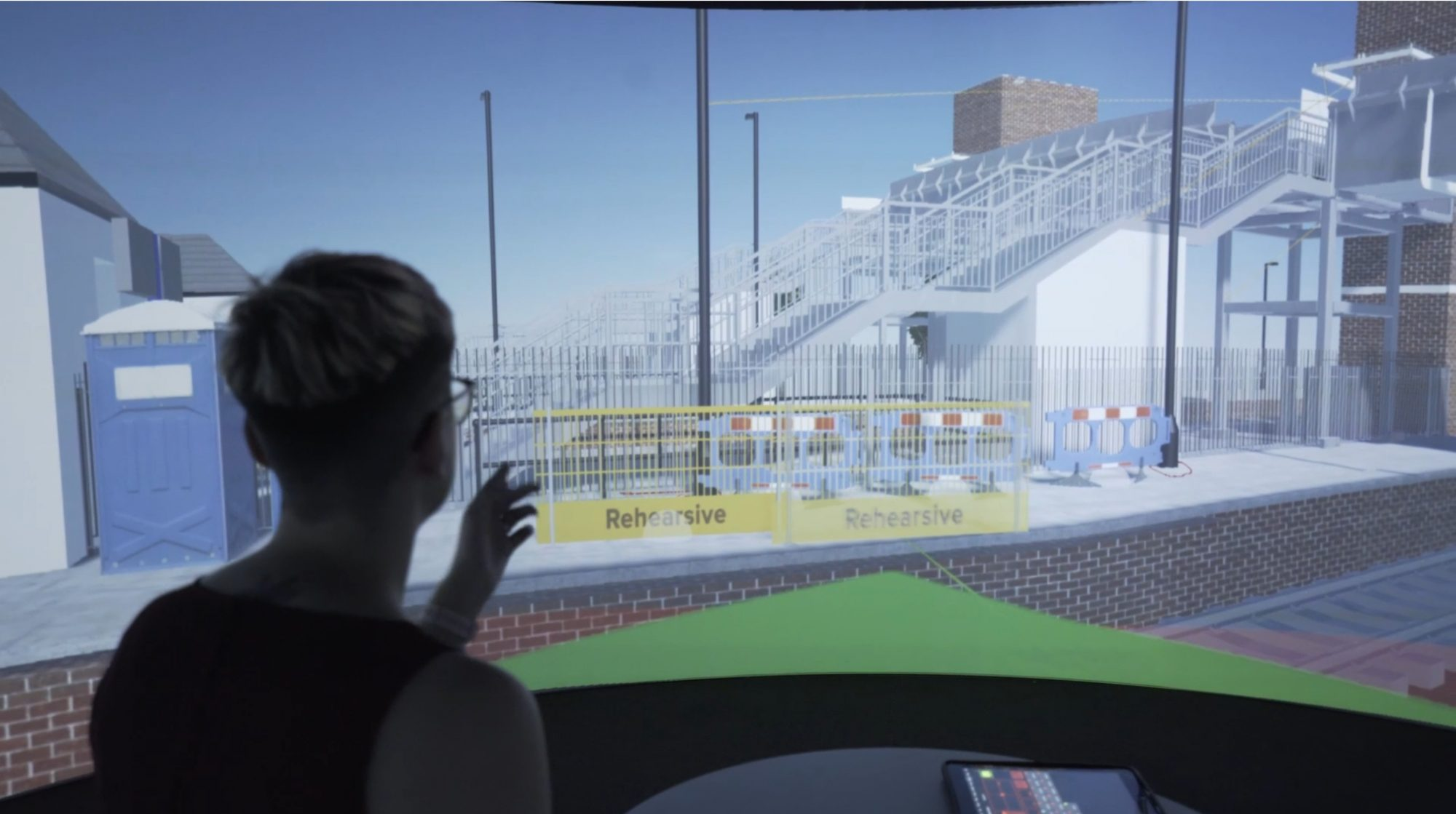 Shared immersive space to boost construction processes