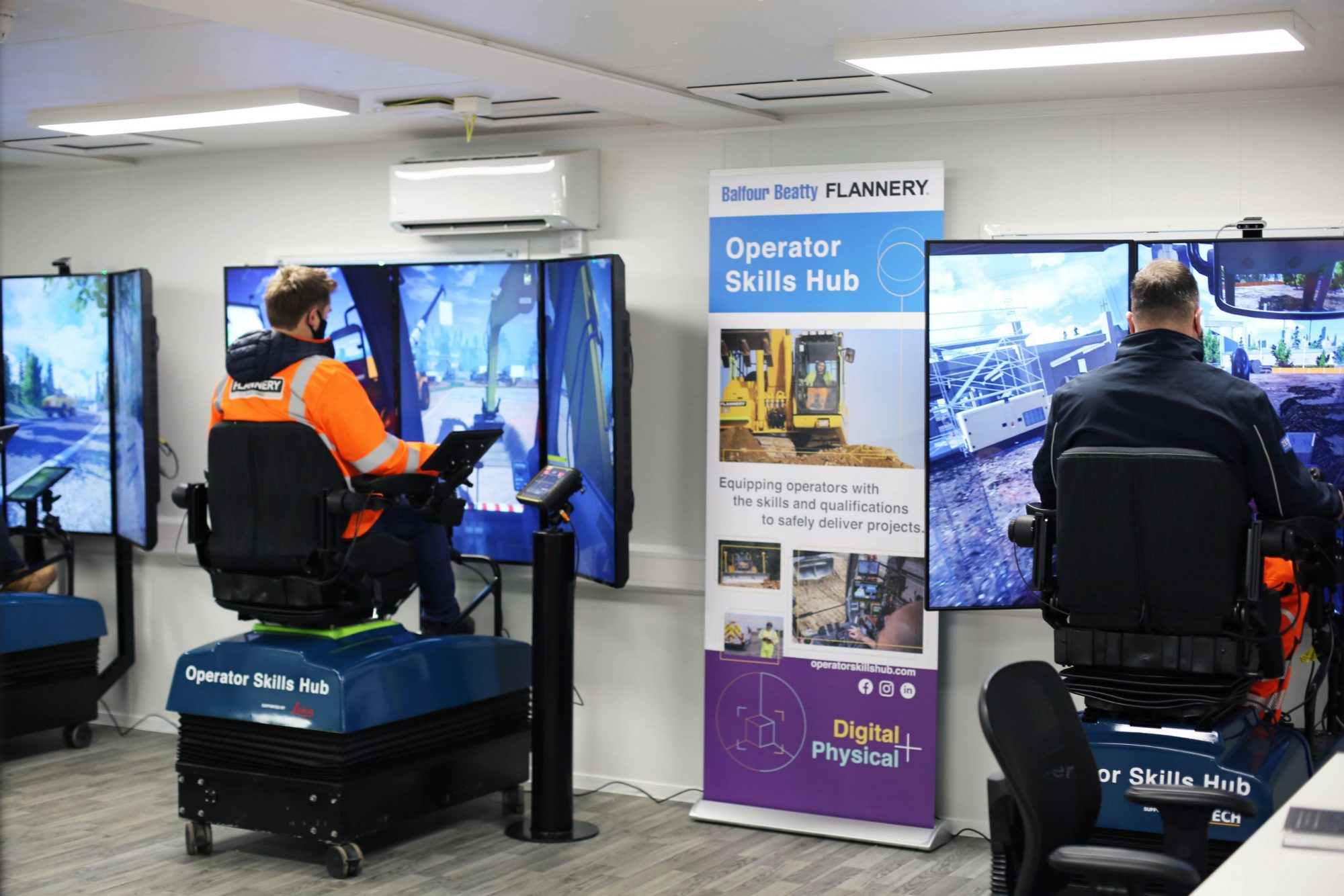 Flannery and Balfour Beatty launch operator skills hub