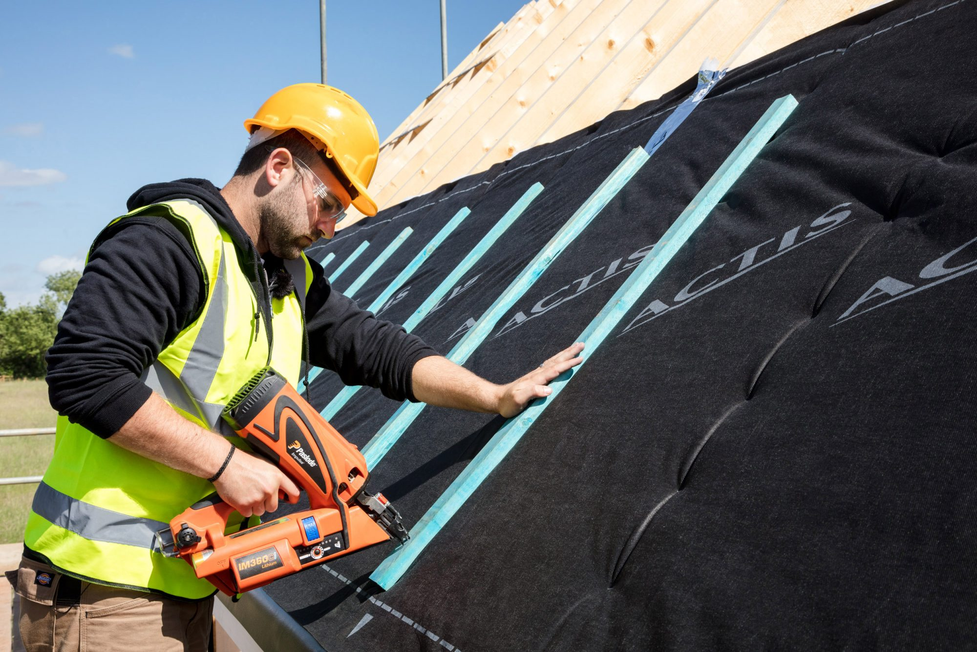 Actis sales rise as roofing industry reports rising workload