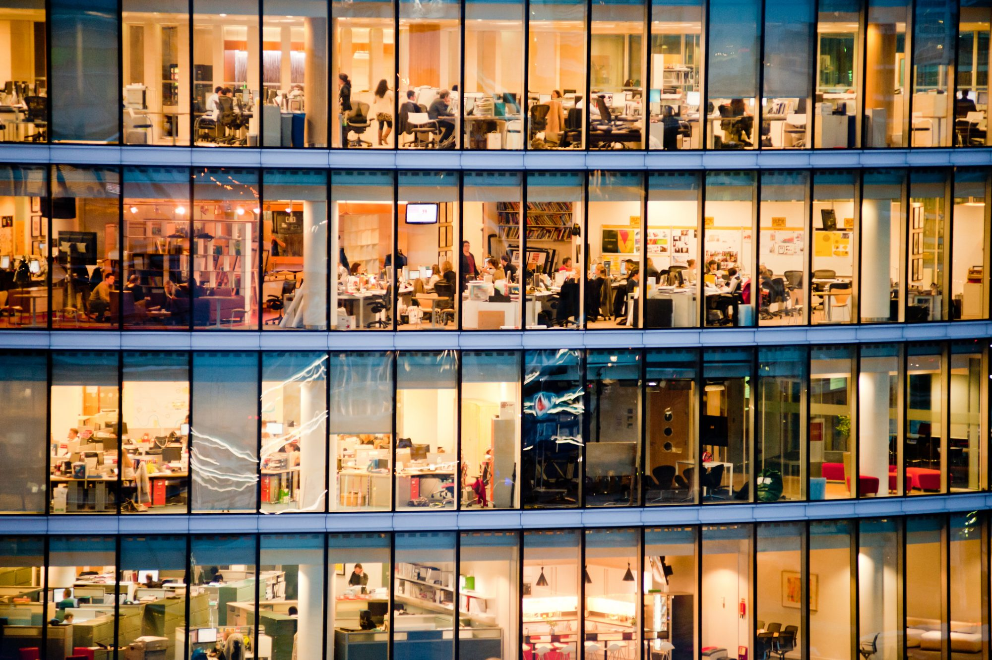 What role do smart buildings play in the new normal?