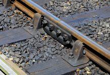 Railway track worker