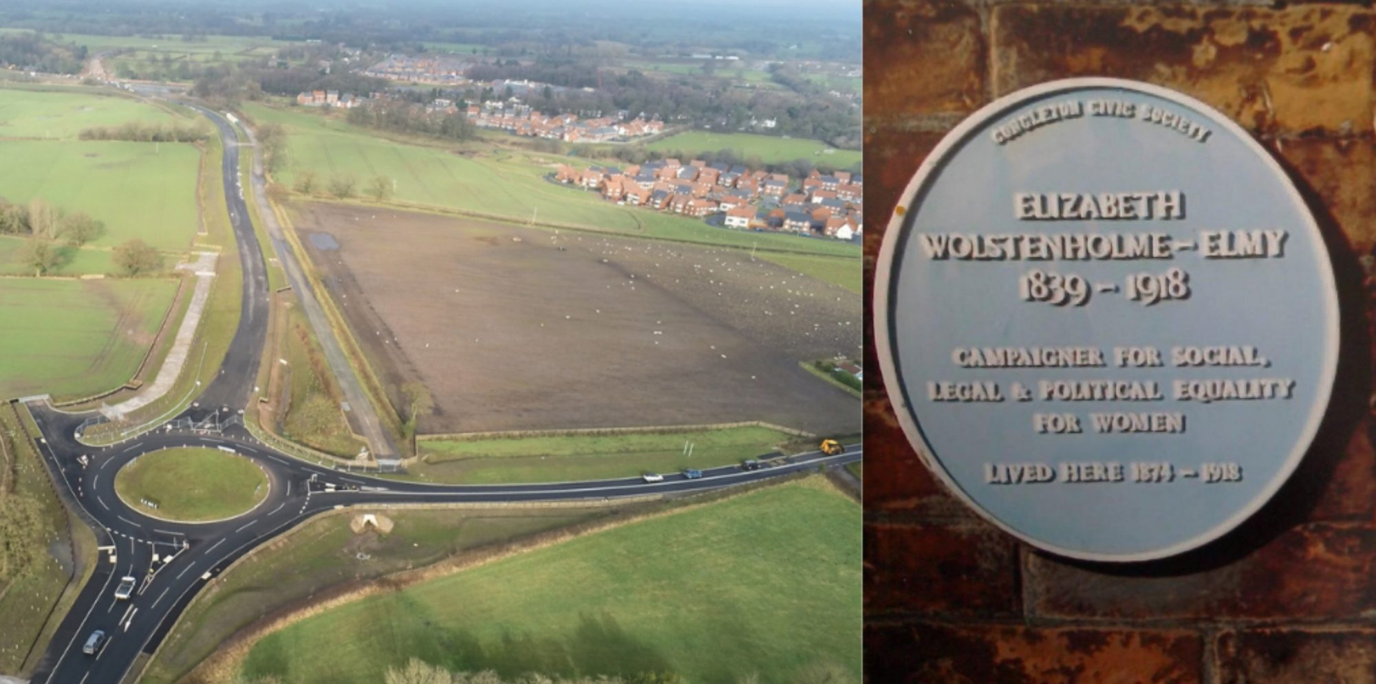 £90m Congleton link road renamed before opening day