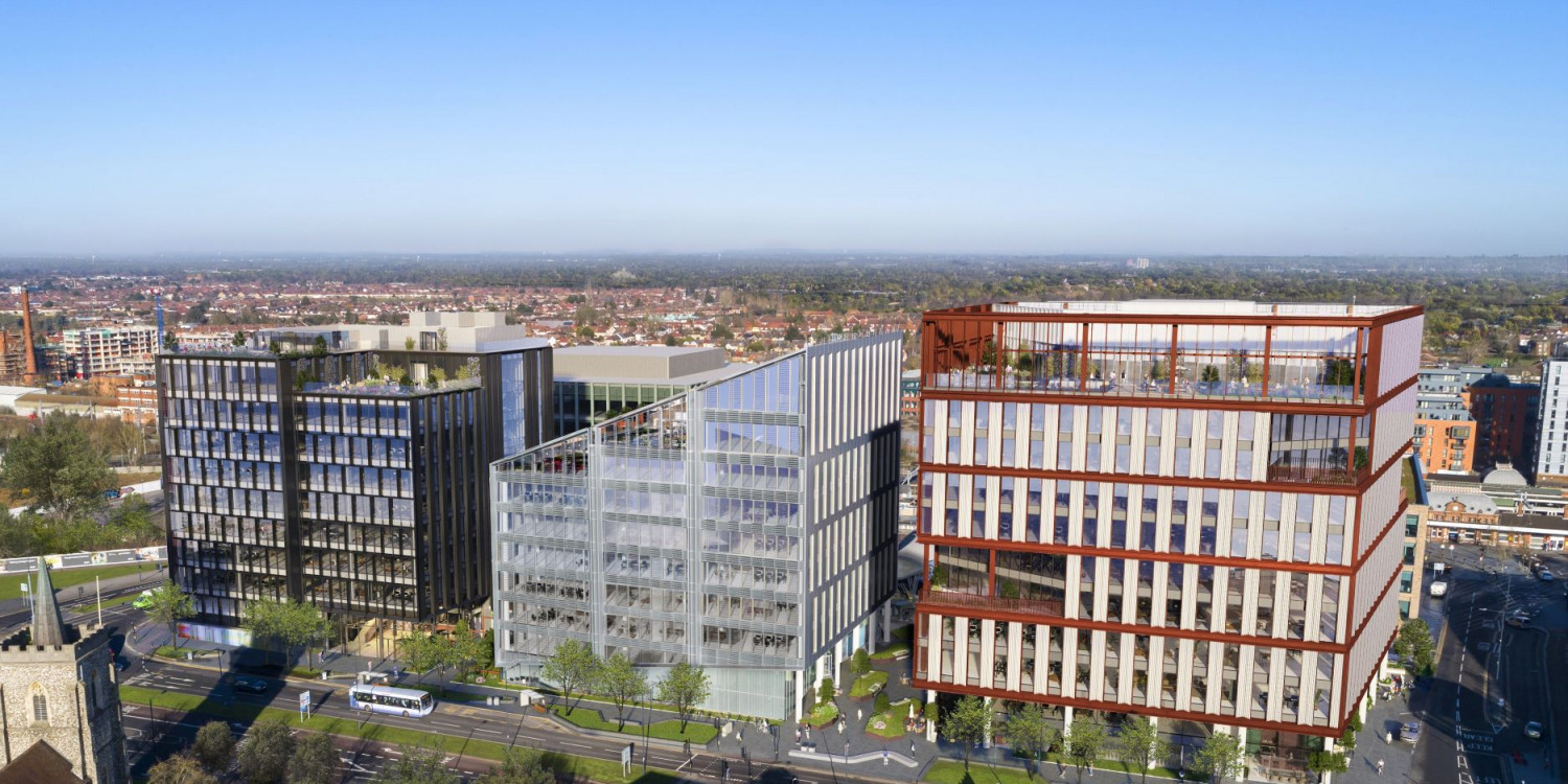 Green light for zero carbon offices in Slough