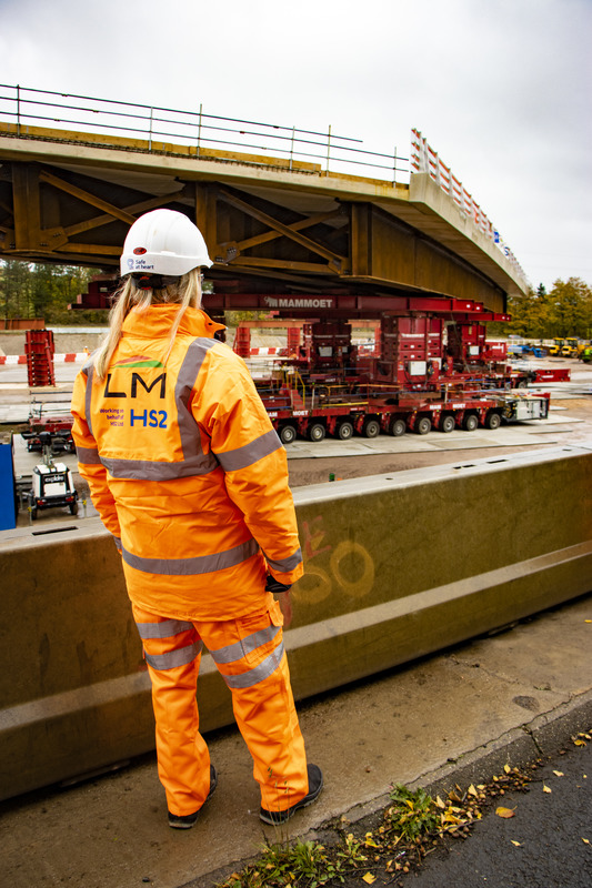 HS2 contracts, construction