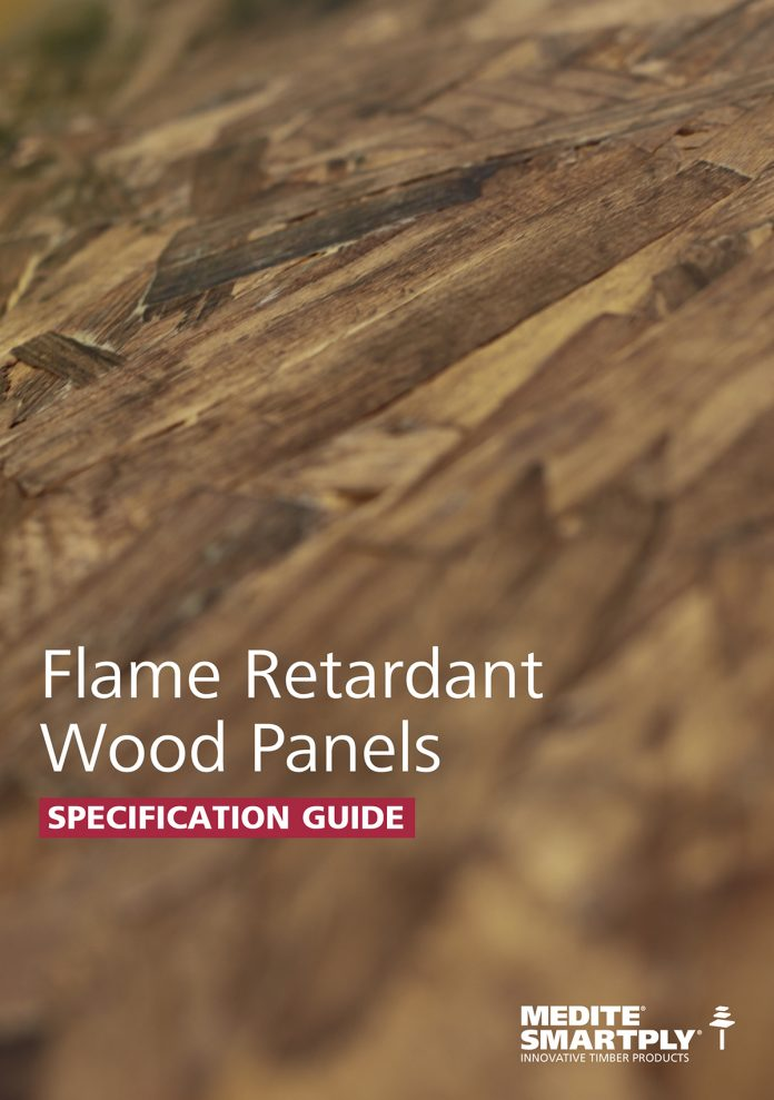 Flame Retardant Wood Panels