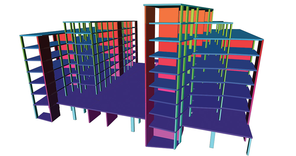 structural engineering software, bayscape building,