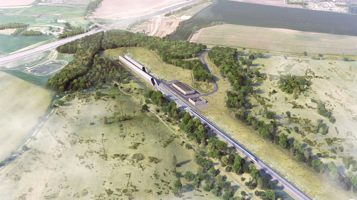 HS2 to create chalk grassland in the Colne Valley