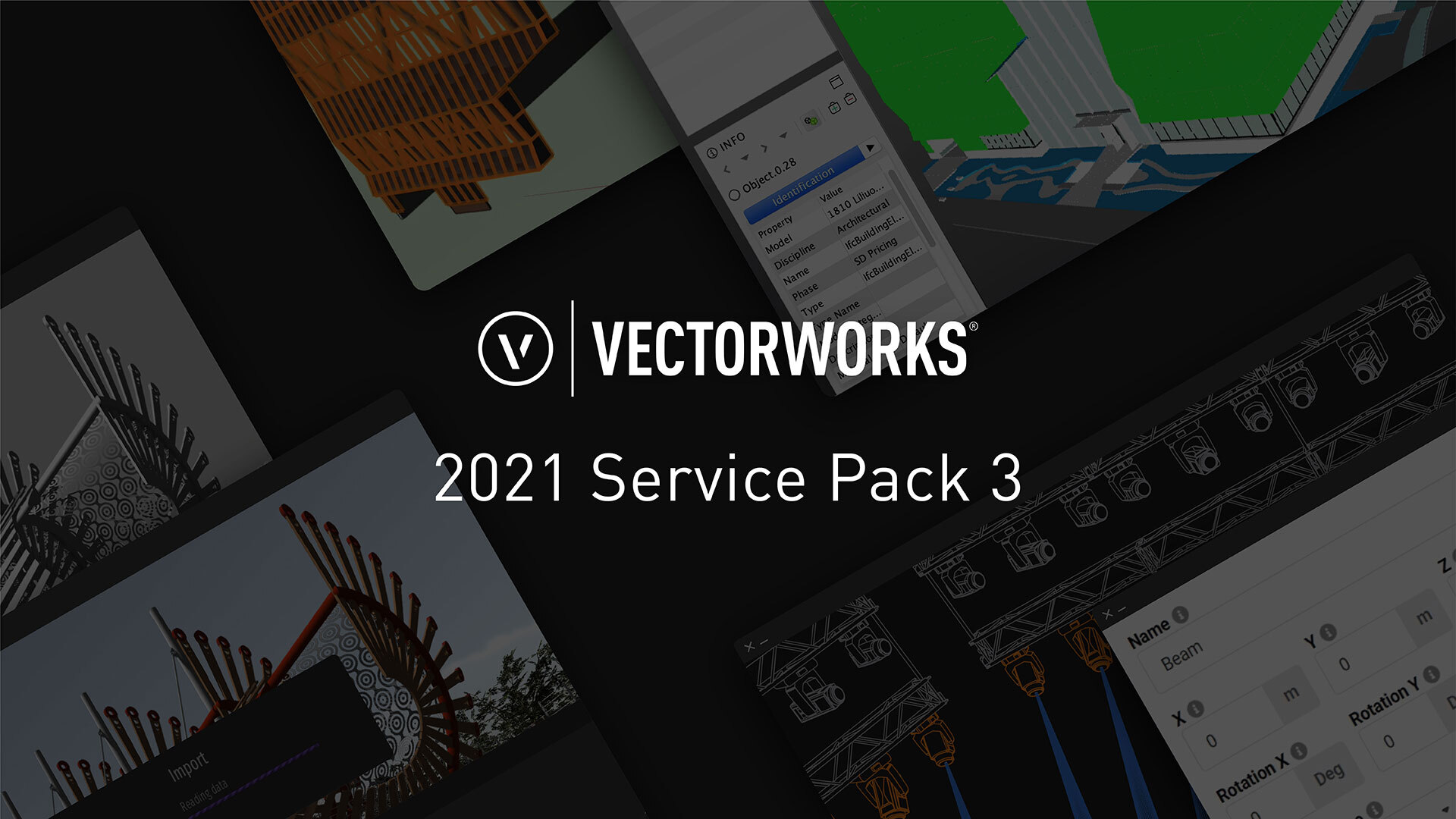 Vectorworks releases third service pack for 2021 product line