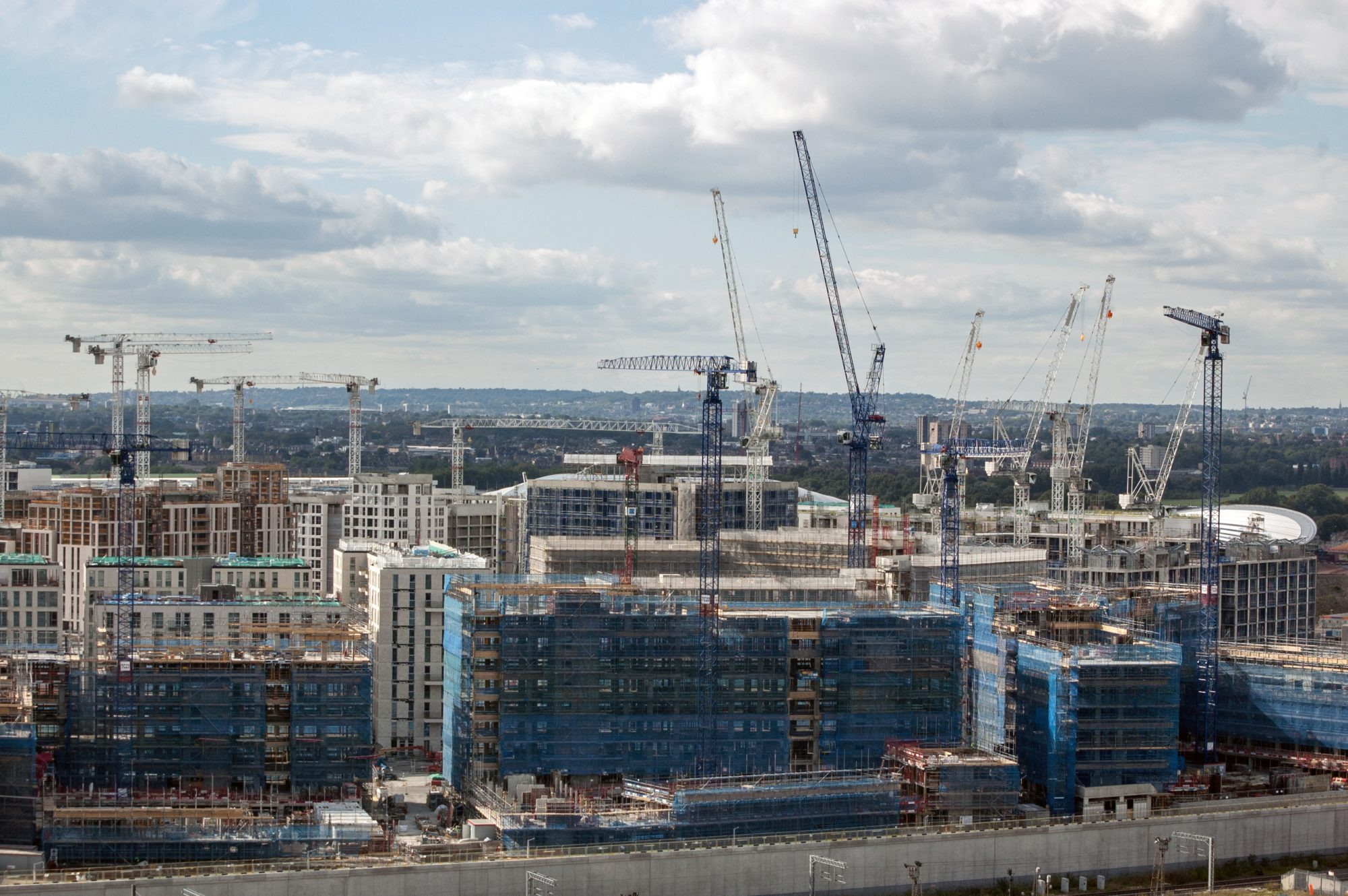 Commercial work offers relief for UK construction in February