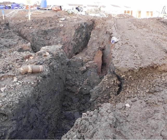 Excavation collapse