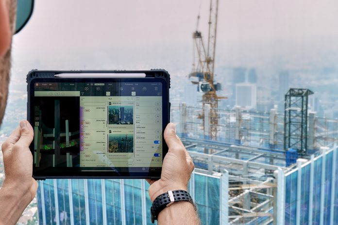 Tablets on site, technology