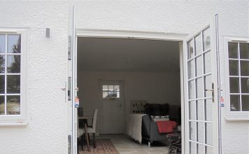 StormMeister® Low Threshold Flood Door