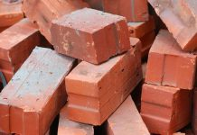 printed bricks, construction waste,